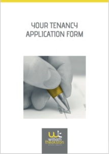Tenancy application form